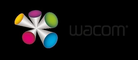 Logo tablety graficzne Wacom